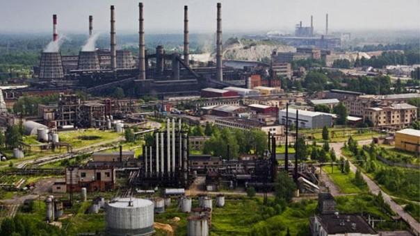 Kawasan industri di Jatim