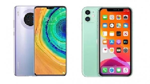 Huawei Mate 30 dan iPhone 11