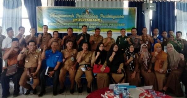 Musrenbang Disnaker Kota Pekanbaru di Kecamatan Rumbai Pesisir.