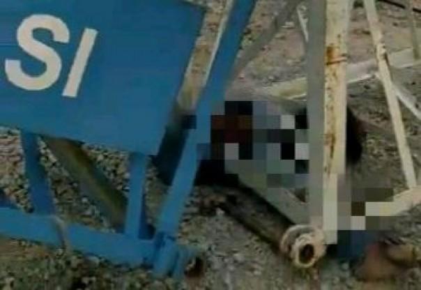 Korban tewas tertimpa crane dalam proyek pembangunan jalan Tol Pekanbaru - Dumai.