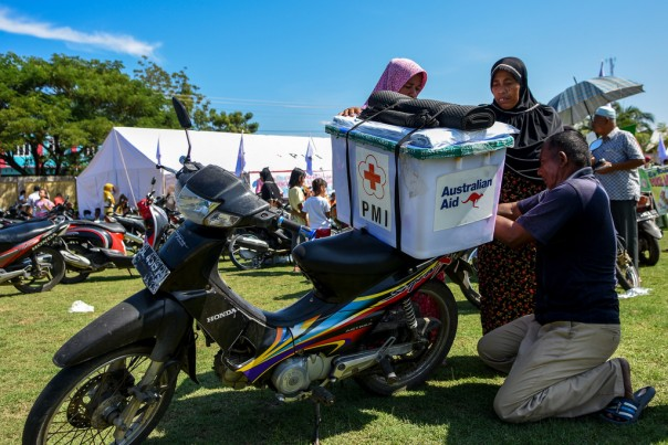 Australia provides assistance to Indonesia