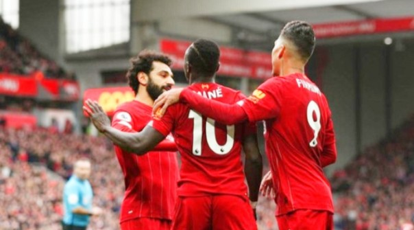 Liverpool Menang 2-1 Jamu Bournemouth