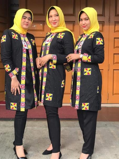Pendayung Jalur, Batik Khas Kabupaten Kuantan Singingi